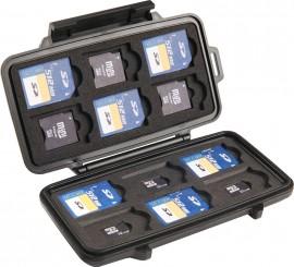 0915 Memory Card Case - 12 SD cards, 6 mini SD cards, & 6 micro SD cards